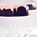 Dark Chocolate Chiffon Cake with Fluffy Rosewater Frosting 4