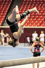 TWU Gymnastics [Beam] Sara Grunert