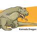 KOMODO Dragon! by felt_tip_felon®