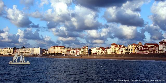 Plongeoir plage jean yves gr goire office de - Office de tourisme de saint jean de luz ...