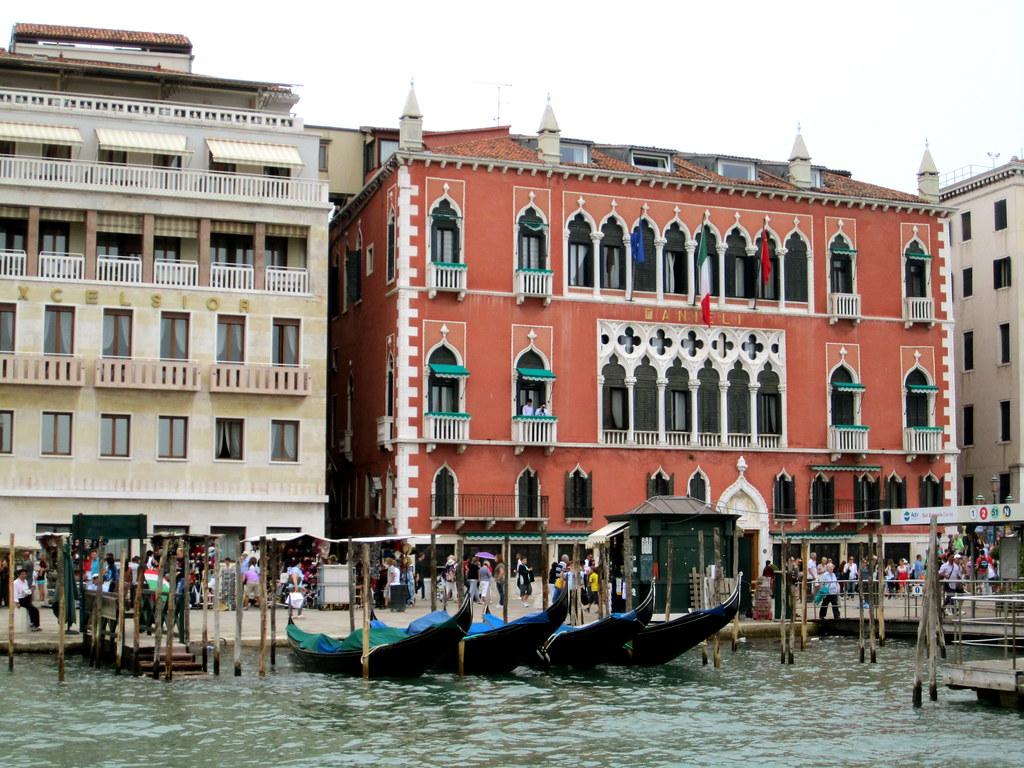 View of Hotel Danieli