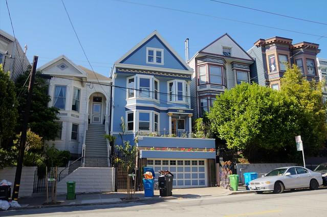 maison bleue de Maxime Leforestier 18th street San Francisco