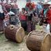 Drums - Tambores; Fiesta del pueblo, Joyabaj, El Quiché, Guatemala
