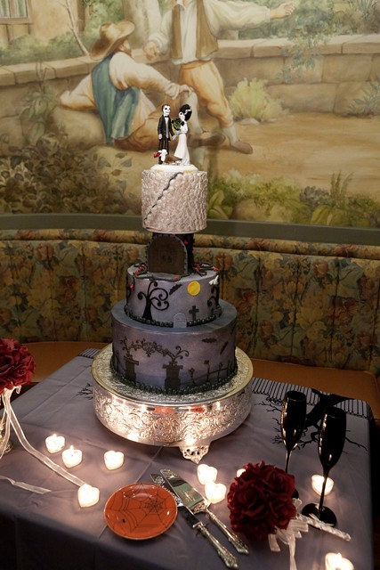 Halloween Wedding Cake Flickr Photo Sharing