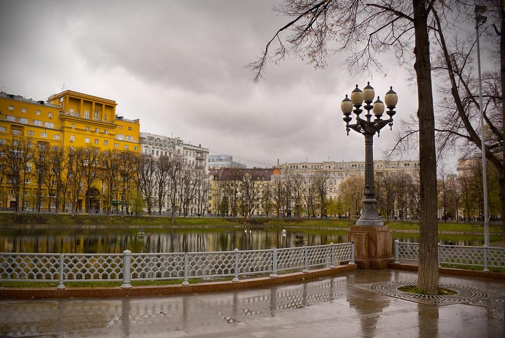 Москва. Патриаршие пруды.