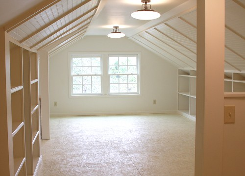 Anna maria horner bare canvas for Cost to finish bonus room over garage