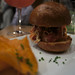 Barbuzzo Meatball Slider w. homemade sweet potato chips