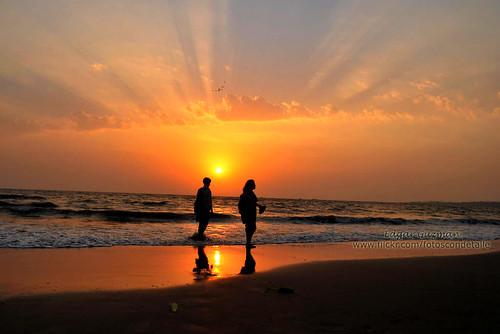 ocean sunset sea sky sun india sol beach atardecer mar indian playa cielo arabian oceano índico oceáno indico arabico arábico