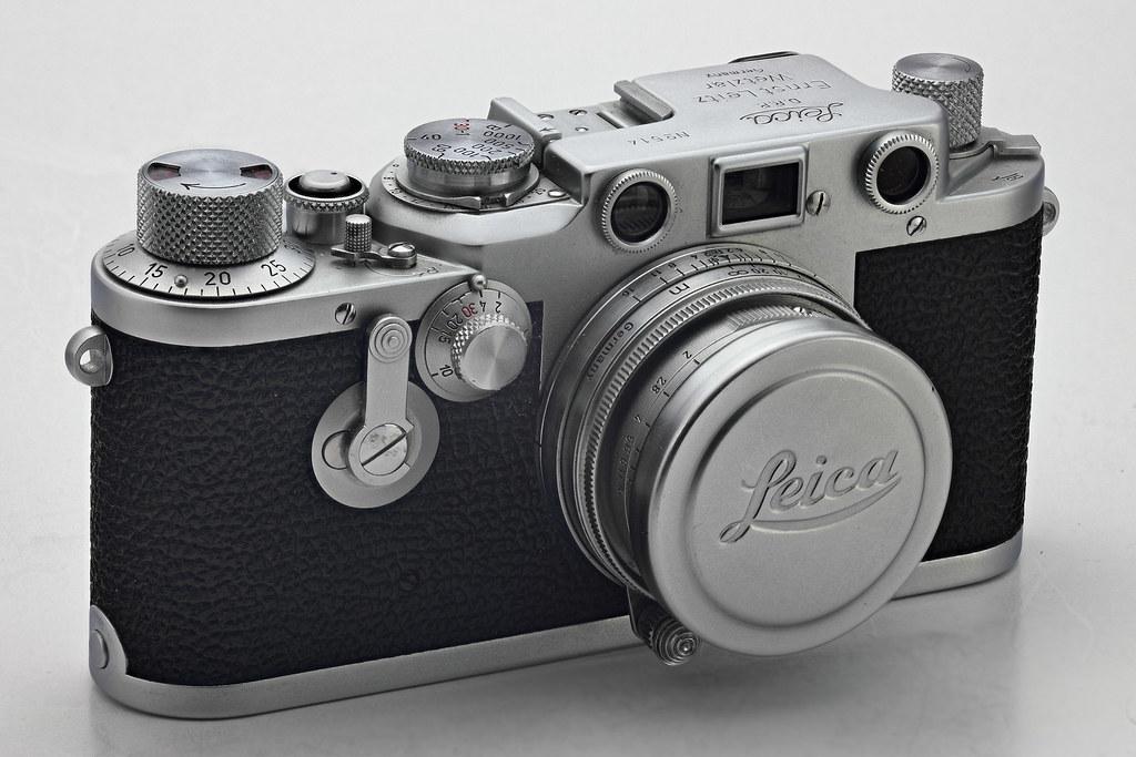 Leica IIIc converted to IIIf BD ST