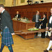 Carrying the Haggis at Speaker Milliken's