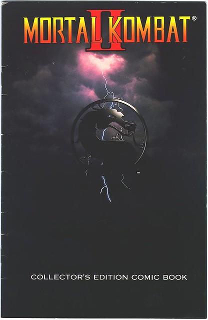 Mortal Kombat Ii Collectors Edition Comic 1993 Flickr-7310