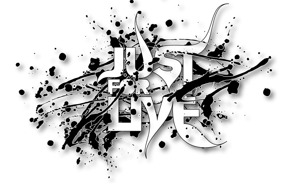 JUST FOR LIVE   Logo by William Ismael