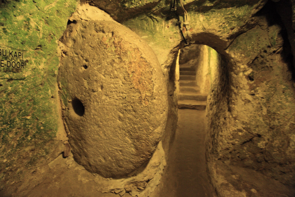 Derinkuyu - underground city in Turkey