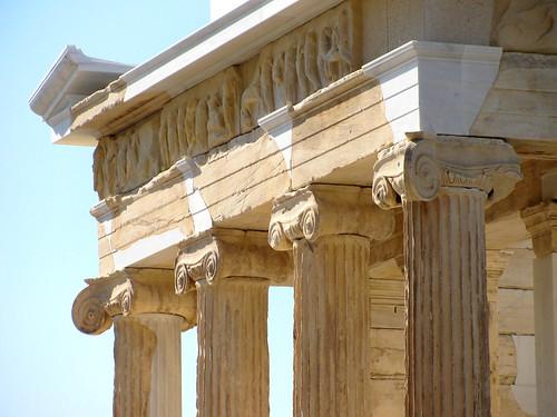 Detalle del Templo de Atenea