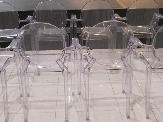 See through chairs