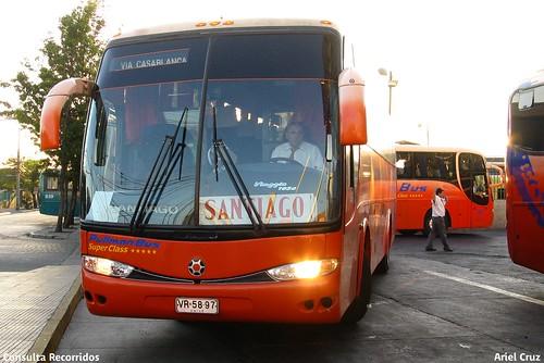 Pullman Bus | Terminal Alameda | Marcopolo Viaggio 1050 / VR5897