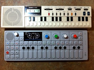 Casio VL-1 & Teenage Engineering OP-1, April, 2011