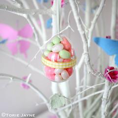Candy filled egg