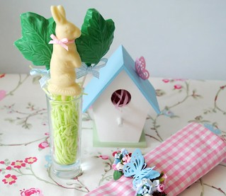 Hand-made Easter Table setting