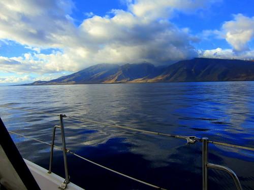 Approaching Maui