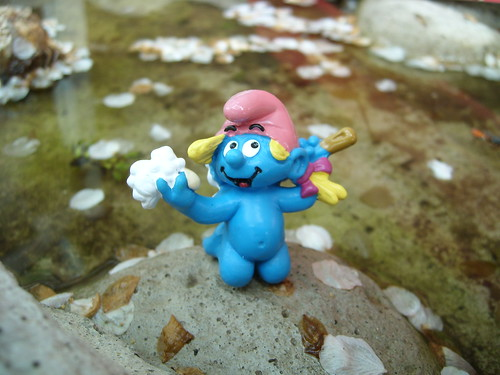 Weirdest Smurf figure ever