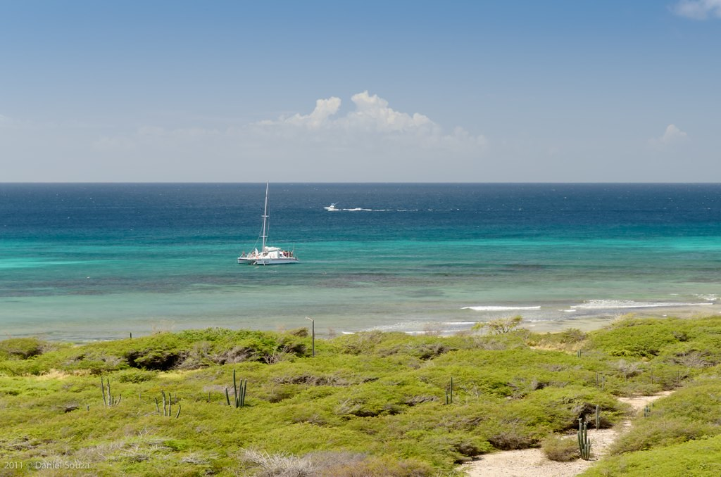 пляж аруба