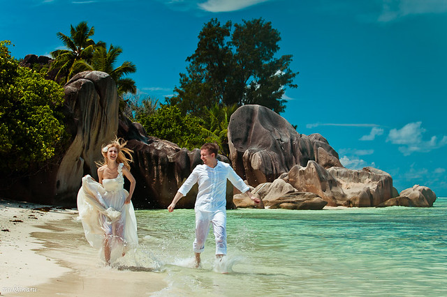 Seychelles LaDigue wedding photography