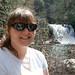 Small photo of Sabrina at Abram's falls