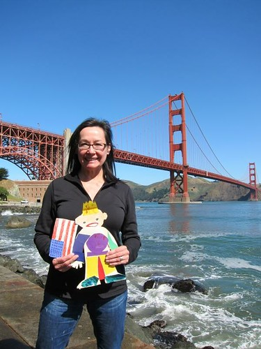 Flat Stanley, San Francisco, Golden Gate Br… IMG_5597