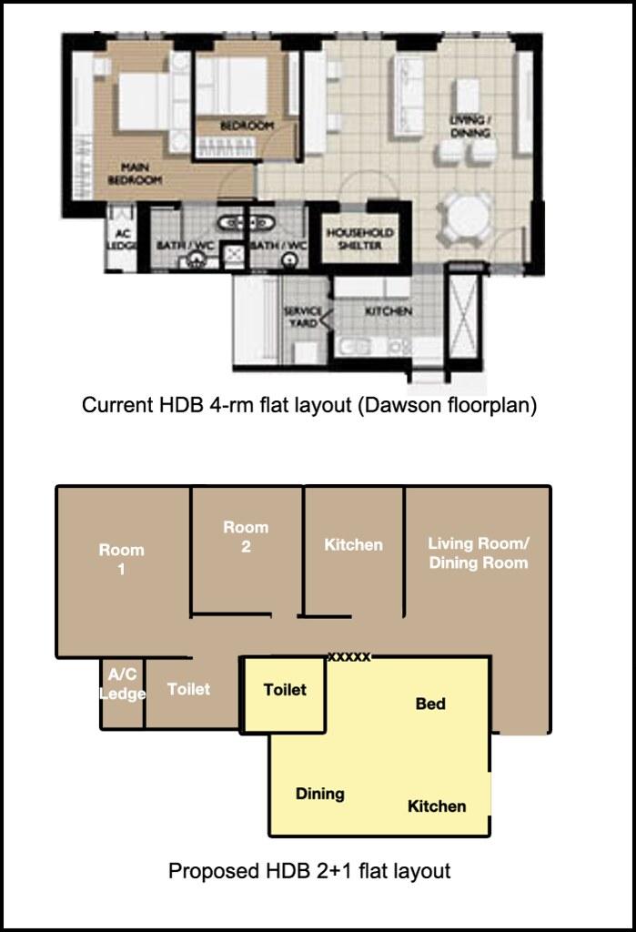 4 room hdb floor joy studio design gallery best design for Apartment design guide part 4