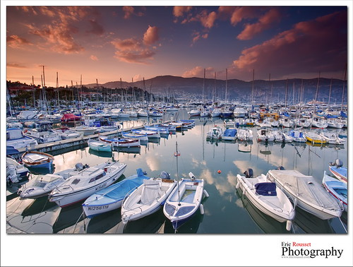 sunset seascape france port marina canon landscape photography boat spring europe harbour wideangle côtedazur bateau paysage canonef1740mmf4lusm frenchriviera alpesmaritimes stjeancapferrat 2011 provencealpescôtedazur singhray leefilter canoneos5dmarkii ericrousset leendgrad075 singhray3stopreversegndfilter