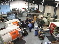 P & W Engineering Dunedin Machine Shop Team