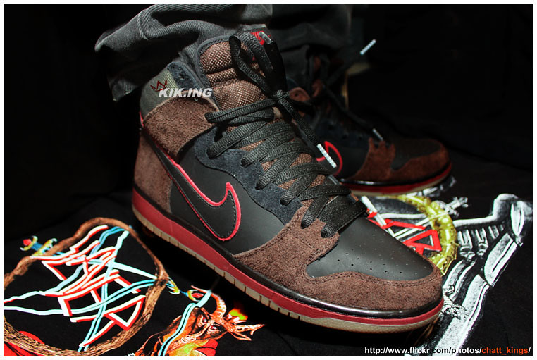 7ad2c53ff3b0 ... Brooklyn Projects x Nike SB Dunk High  Reign in Blood
