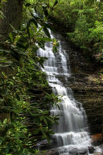 chris photography photo waterfall high nikon soft kaskel tn dynamic tennessee away falls waterfalls pro range hdr tucked benton matix photomatix d5000