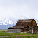 Mormon Row Moulton Barn, Grand Teton National Park, WY