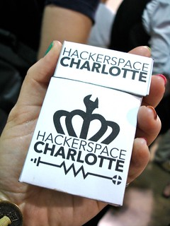 Maker Faire NC: Hackerspace Charlotte Technology (dispensed)