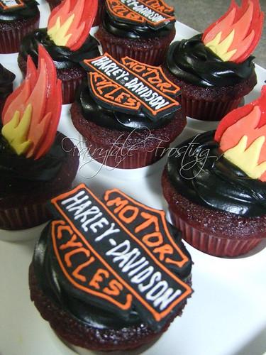 Harley Davidson Cupcakes