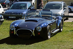 shelby daytona(0.0), race car(1.0), automobile(1.0), vehicle(1.0), performance car(1.0), automotive design(1.0), antique car(1.0), classic car(1.0), land vehicle(1.0), ac cobra(1.0), tvr(1.0), supercar(1.0), sports car(1.0),