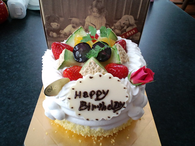 Photo:パティスリーchou chou 誕生日ケーキ(My Birthday Cake) By alphalead