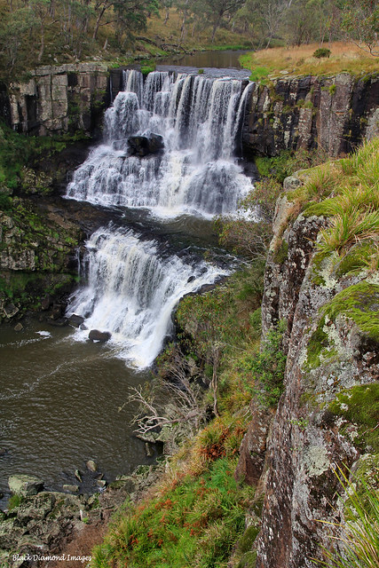 Upper and Middle Ebor Falls, Guy Fawkes River, Ebor, Waterfall Way, NSW