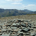 Glyders and Snowdon from  Pen Yr Ole Wen