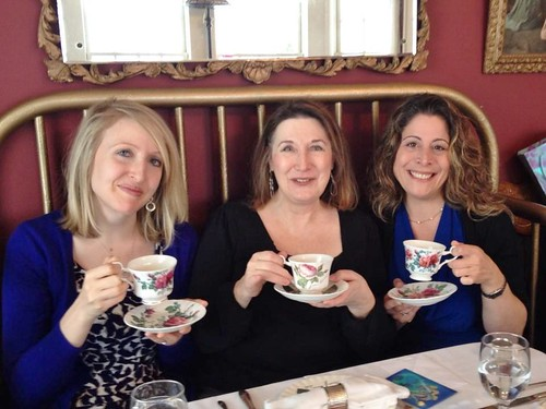 Drinking tea with the ladies