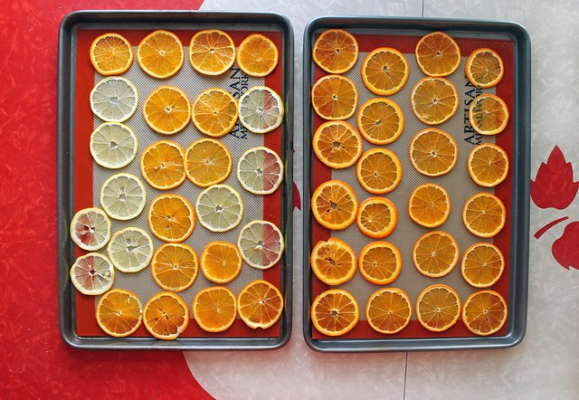 Dried Orange Slices for Tea