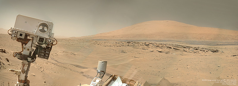 "Hello From Mars! Curiosity's Latest ""Selfie"""