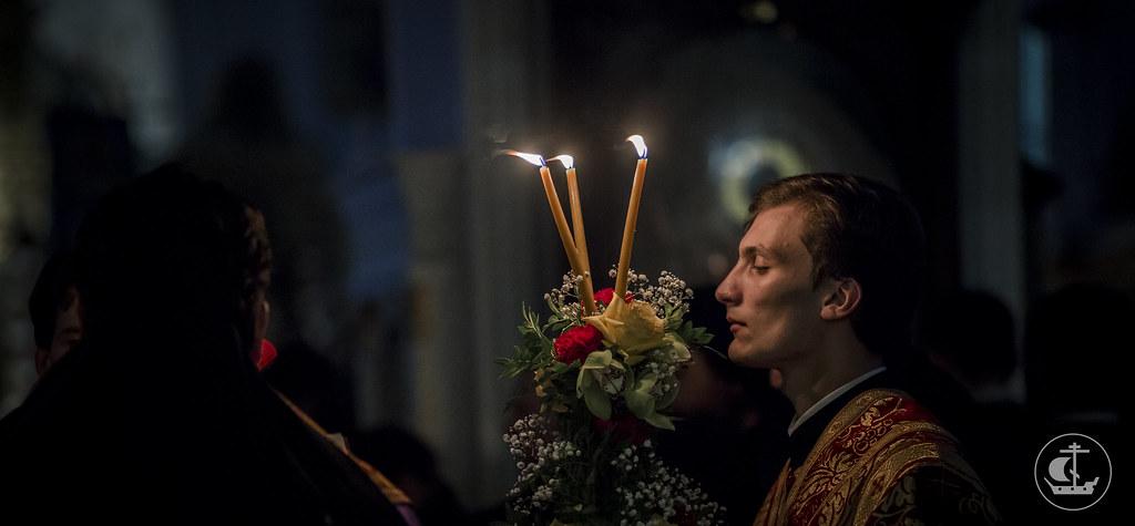 8 октября 2016, Всенощное бдение / 8 October 2016, The all-night Vigil