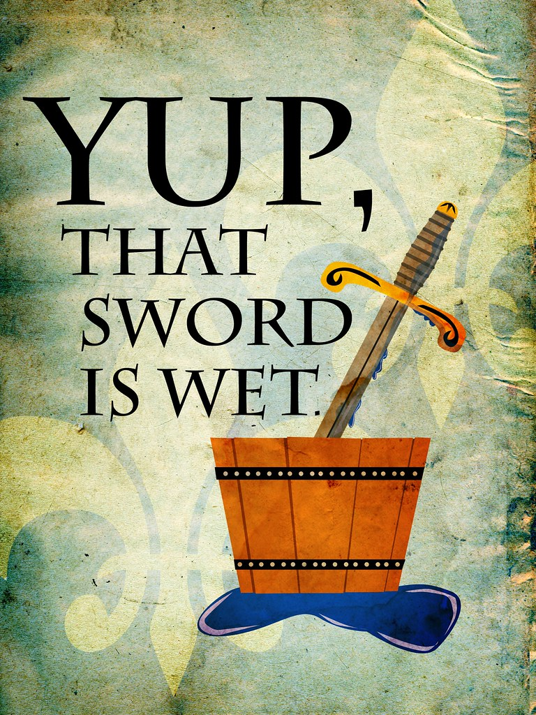 Things I've Said to My Children: Wet Sword