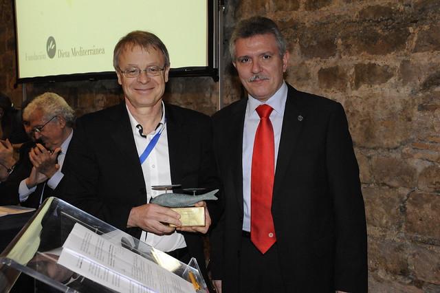 Premio Grande Covián 2010: Michel de Lorgeril (Francia)