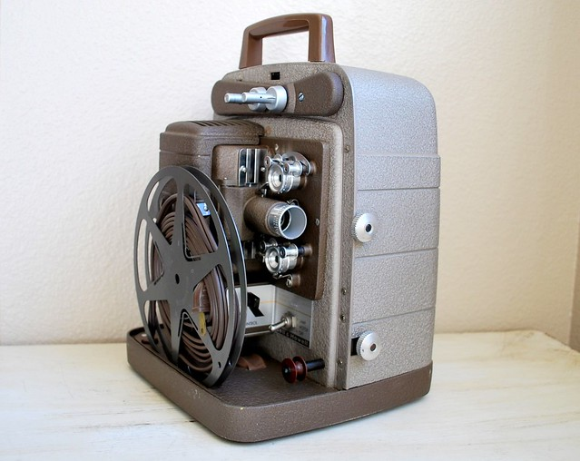 Vintage Bell & Howell Projectors http://www.flickr.com/photos/alpenglow_vintage/5587338598/