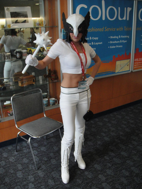 WonderCon 2011 - White Lantern Hawkwoman | Flickr - Photo ...