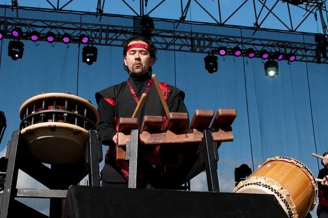 Uzume Taiko drummers